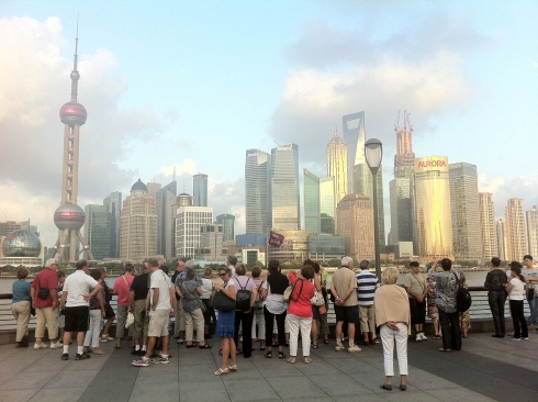 Global city, major attraction. Still I'm always amazed when I walk on the Bund.