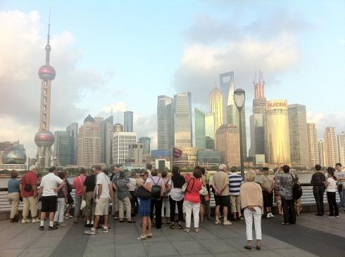 Global city, major attraction. Still I'm always amazed when I walk on the Bund.