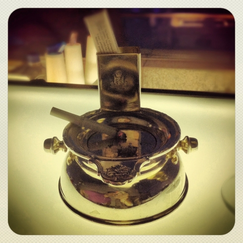 The ashtray I intend to steal some day